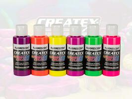 Createx Colors - Starter Set - Fluorescent