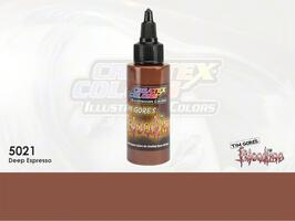 Createx Illustration Color - 5021 Deep Espresso - 30 ml