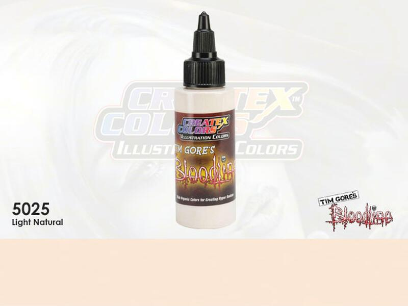 Createx Illustration Color - 5025 Light Natural - 30 ml