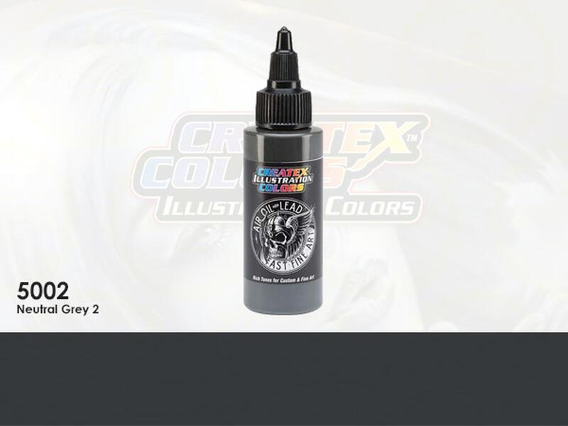 Createx Illustration Color - 5002 Neutral Grey 2 - 30 ml
