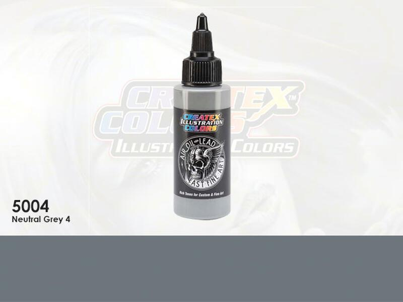 Createx Illustration Color - 5004 Neutral Grey 4 - 60 ml