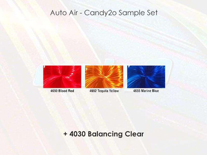 Auto Air - Candy2o - Sample Set